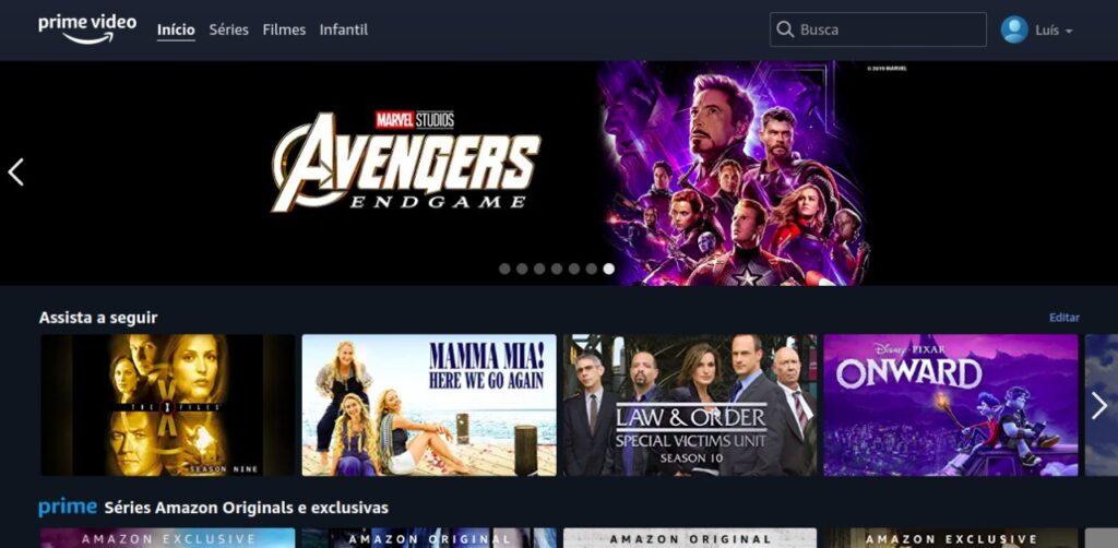 O amazon prime video é um ótimo serviço de streaming com preço baixo.