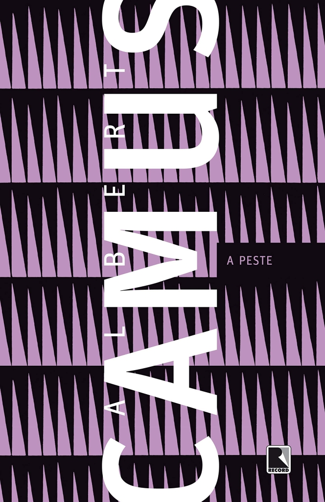 Capa do livro a peste