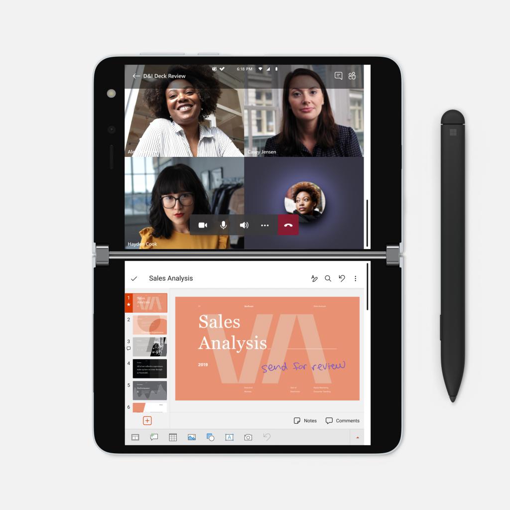 Surface duo pré-venda