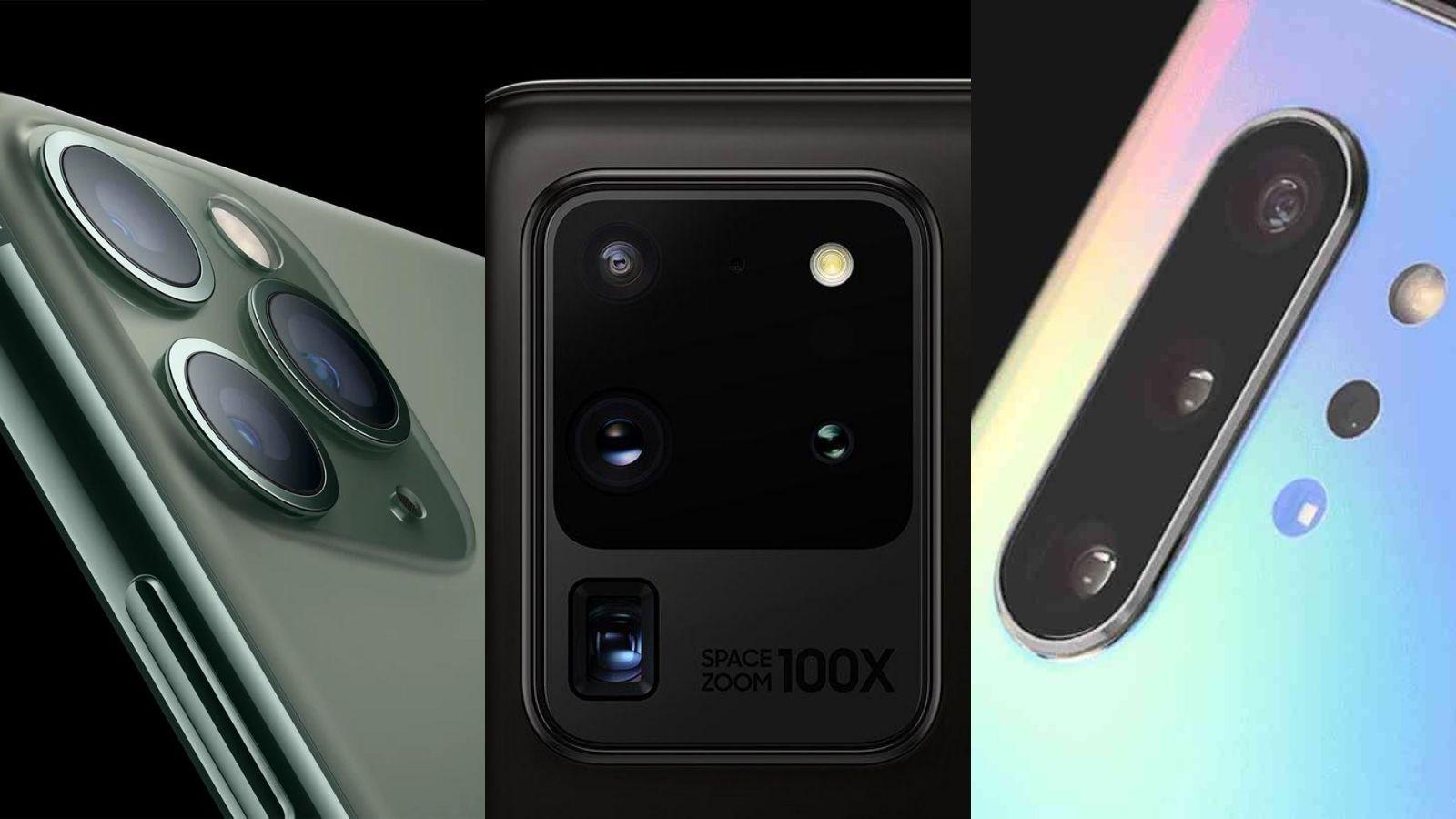 Destaque cameras smartphones