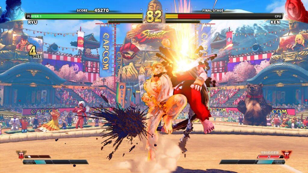 Luta em street fighter v, um dos games gratuitos da ps plus de setembro
