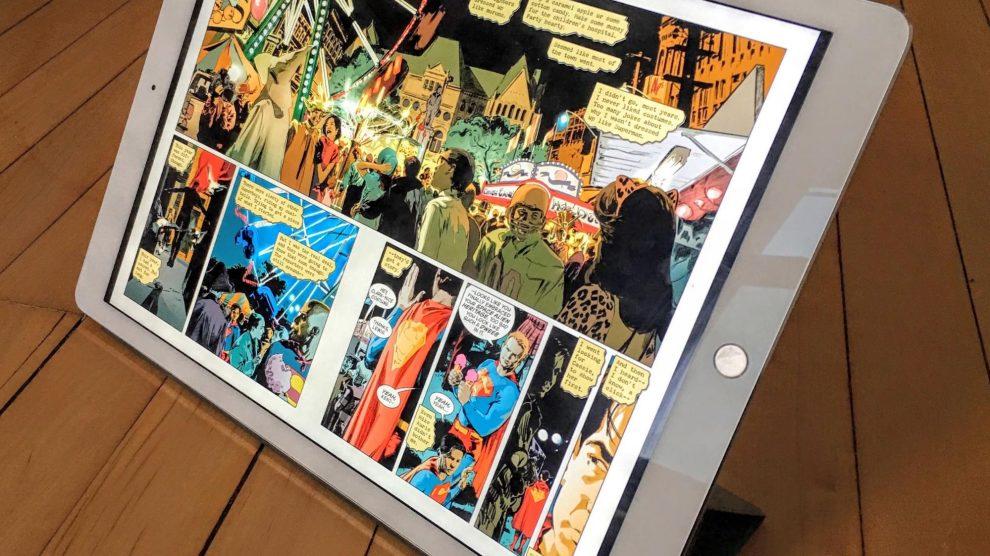 Ipad pro comics