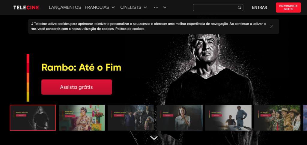 O telecine play é um serviço de streaming perfeito para quem quer assistir os novos lançamentos do cinema.