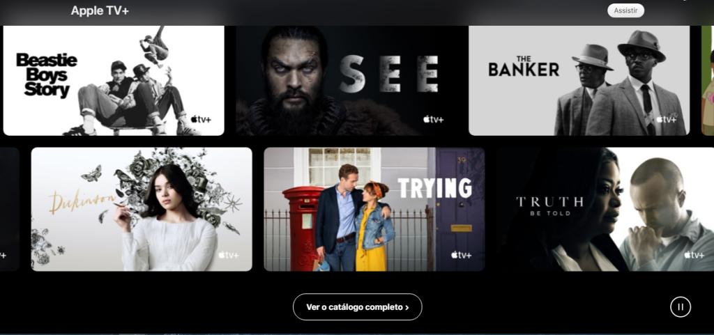 O Apple TV+ é o serviço de streaming exclusivo da empresa.