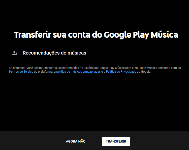 Como transferir suas músicas do Google Play Música para o YouTube Music