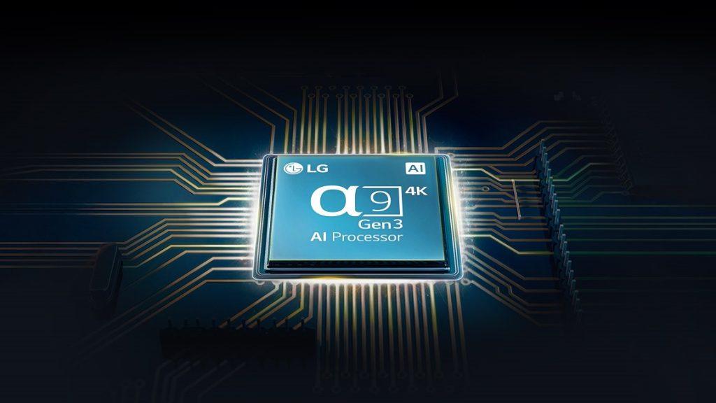 Lg oled cx gx processador