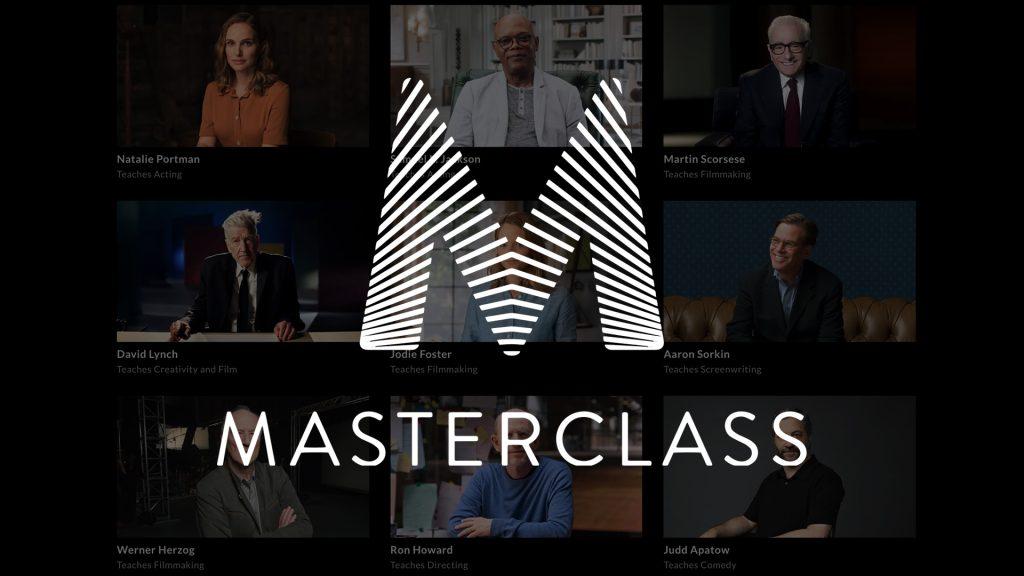 Imagem da plataforma masterclass