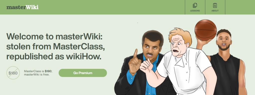 Ilustrações do masterwiki