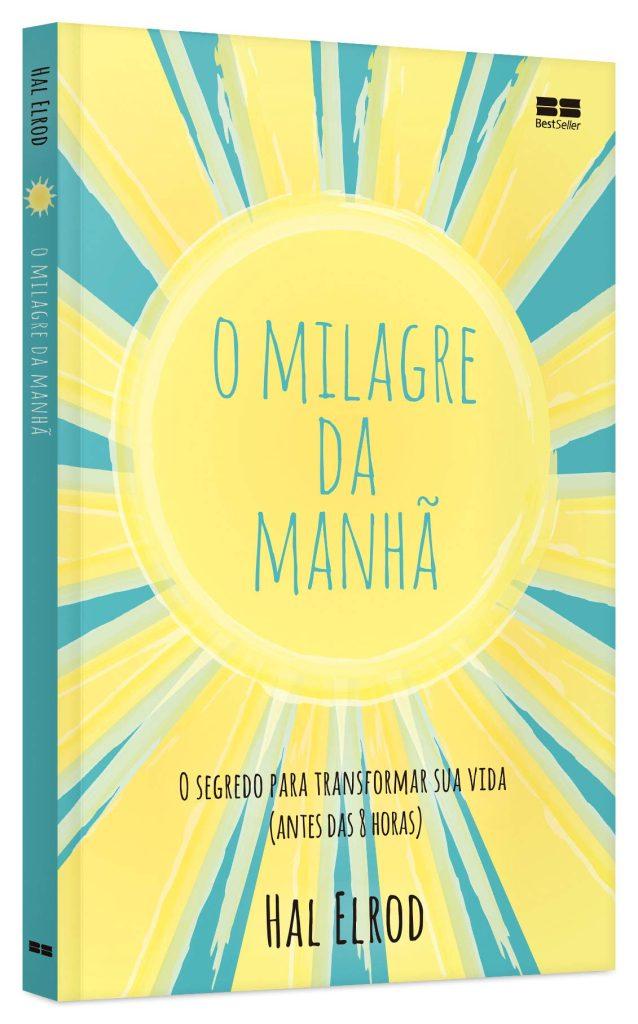 Capa do livro o milagre da manha