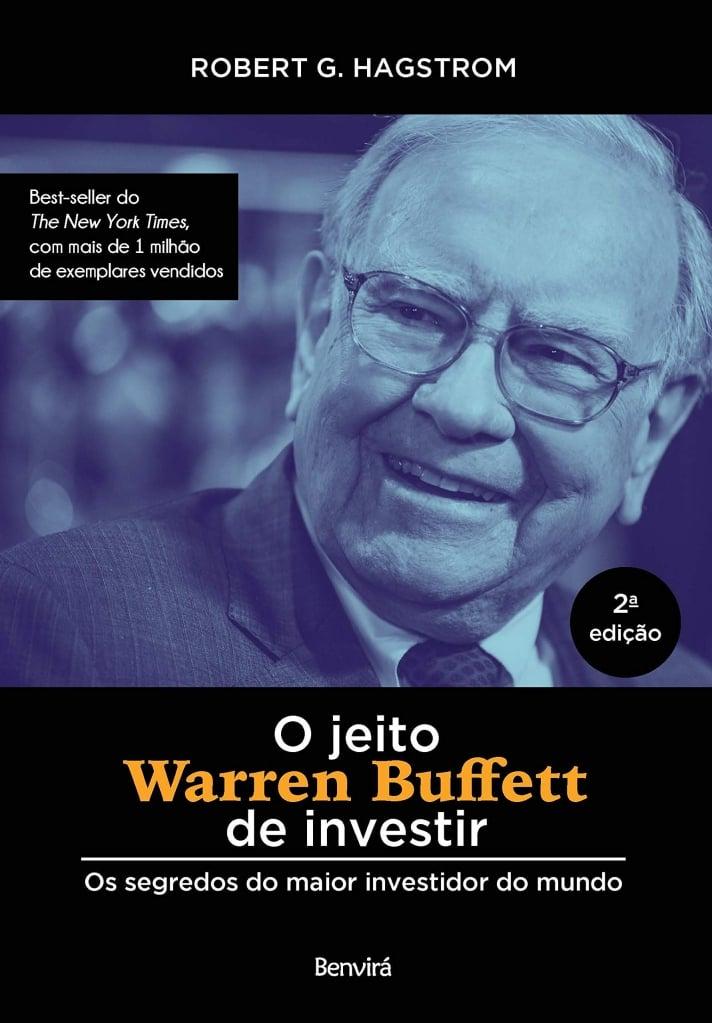 Capa do livro o jeito warren buffet de investir