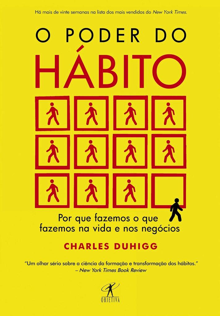 Capa do livro o poder do habito