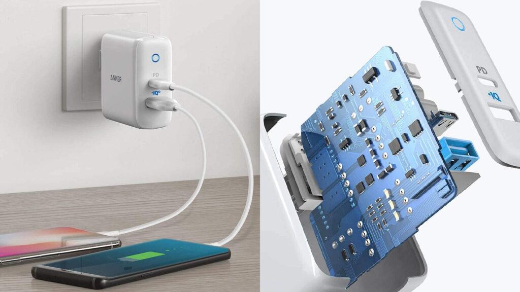 Review: anker powerport pd+2, um bom carregador usb-c. Este carregador da anker tem como grande destaque poder carregar dois dispositivos simultaneamente, porém, ele pode não caber nas tomadas (e bolsos) de todos os consumidores