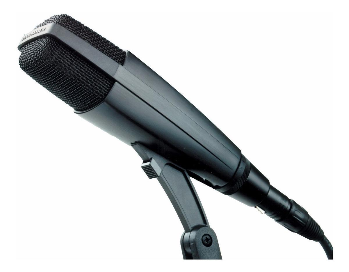 Microfone dinâmico Sennheiser MD421 II
