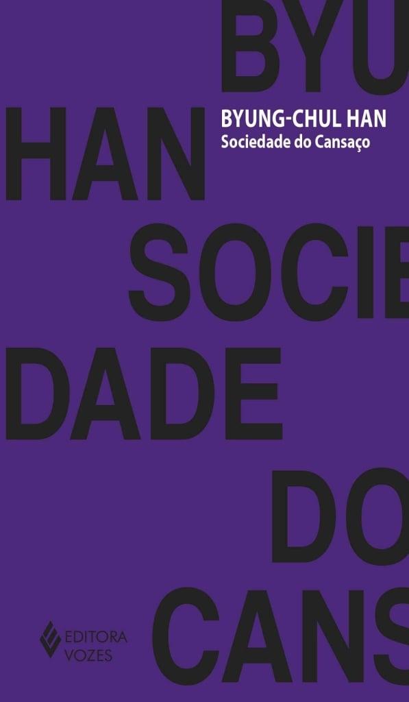 Capa do livro sociedade do cansaço