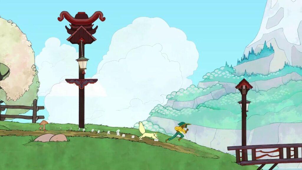 Seções de gameplay nas ilhas do game