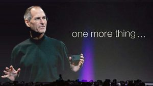Steve jobs one more thing