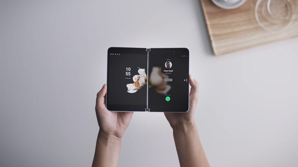 Microsoft inicia a pré-venda do surface duo, o smartphone dobrável da empresa