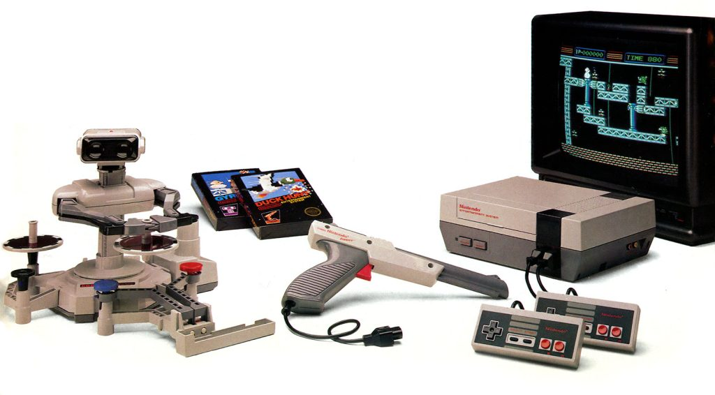 Lançamento do nintendo entertainment system nes