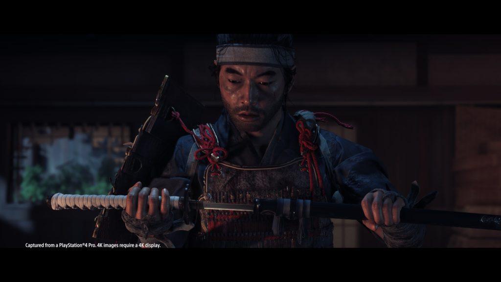 Captura de ghost of tsushima.