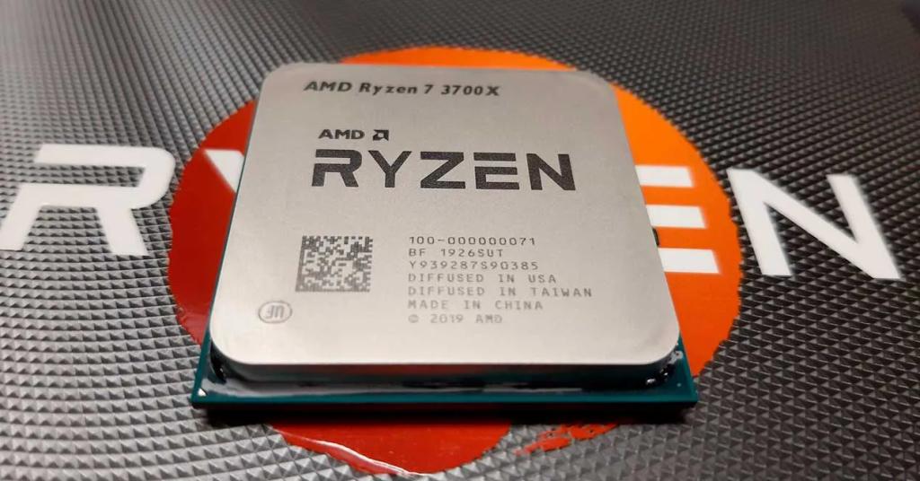 A CPU escolhida para montar o nosso PC é o potente Ryzen 7 3700x.
