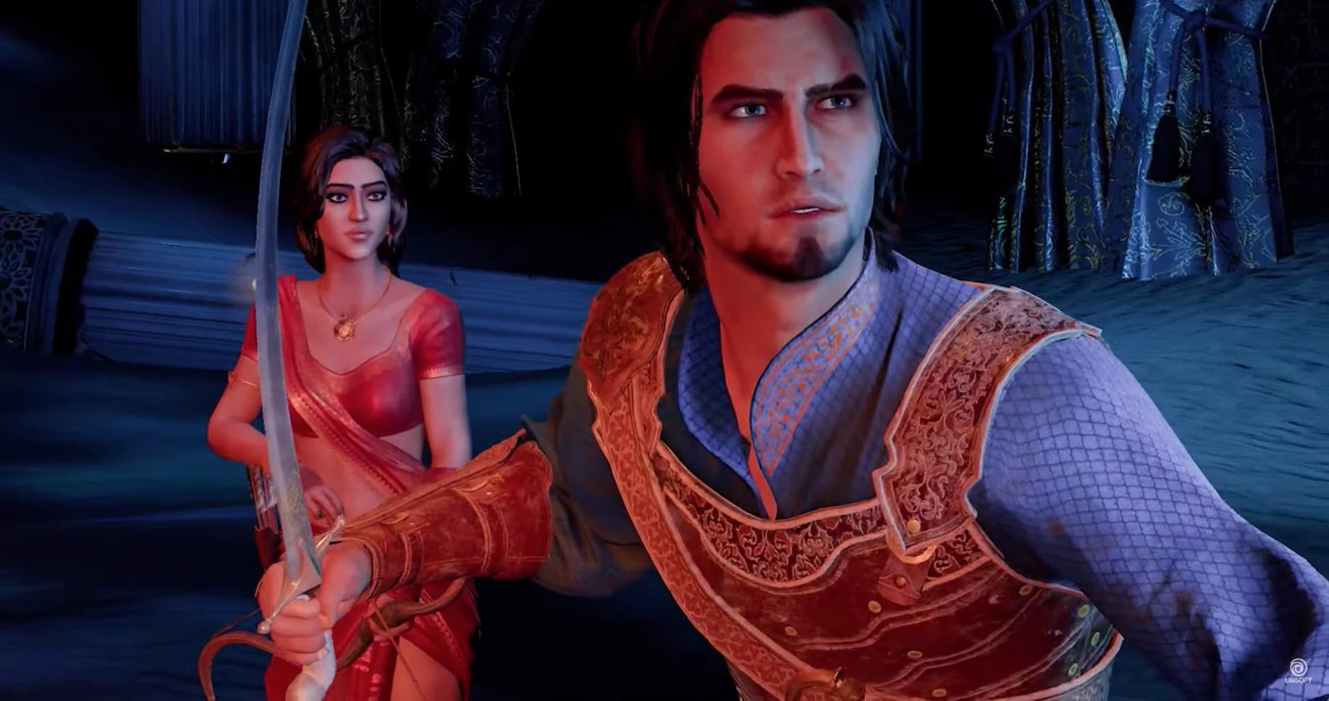 Prince of persia remake foi um dos títulos anunciados no ubisoft forward