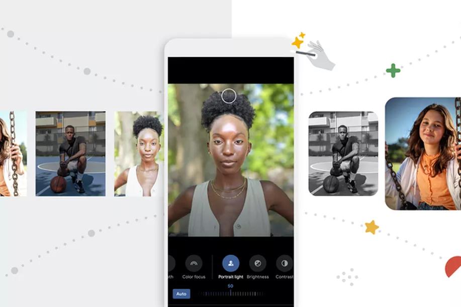 Atualização do google fotos tem novos recursos de edição de imagem. Recursos de aprendizado de máquina permitem melhorias na captura de fotos e em fotos antigas na nova atualização do google fotos