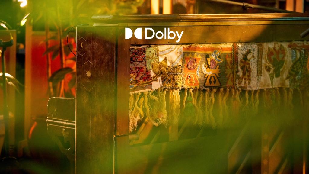 Tem dolby atmos na tv aberta e em outras produções também, como em discos musicais