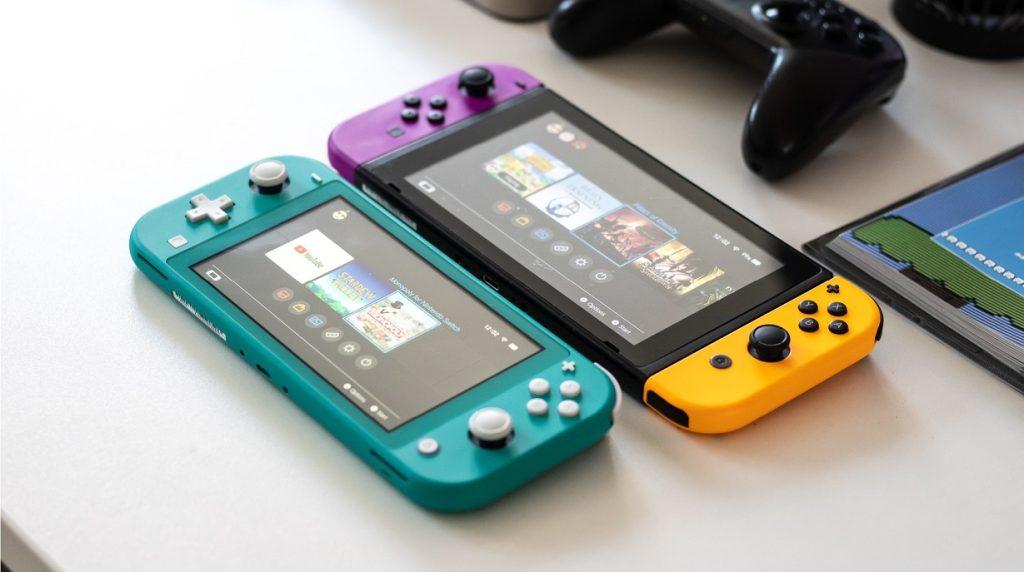 Enquanto não temos o Nintendo Switch 2, temos o original e o Nintendo Switch Lite