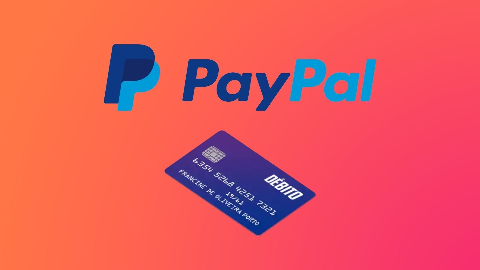 Imagem ilustrando o paypal débito