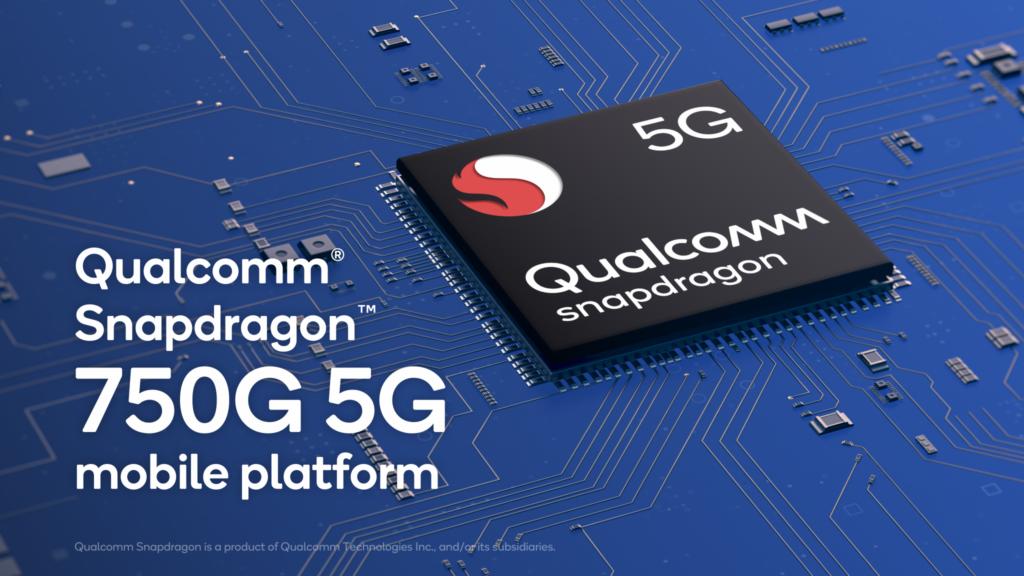 Novo processador snapdragon 750g da qualcomm