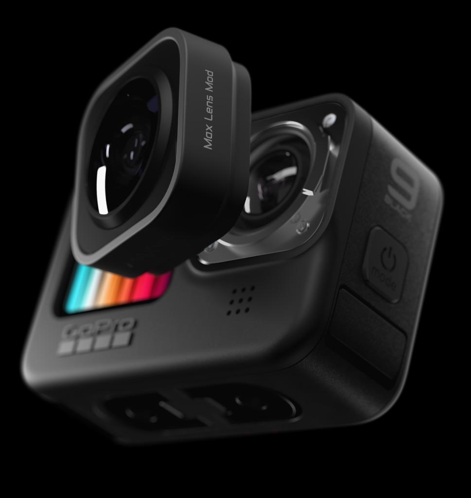 HERO9 Black com o módulo Max Lens