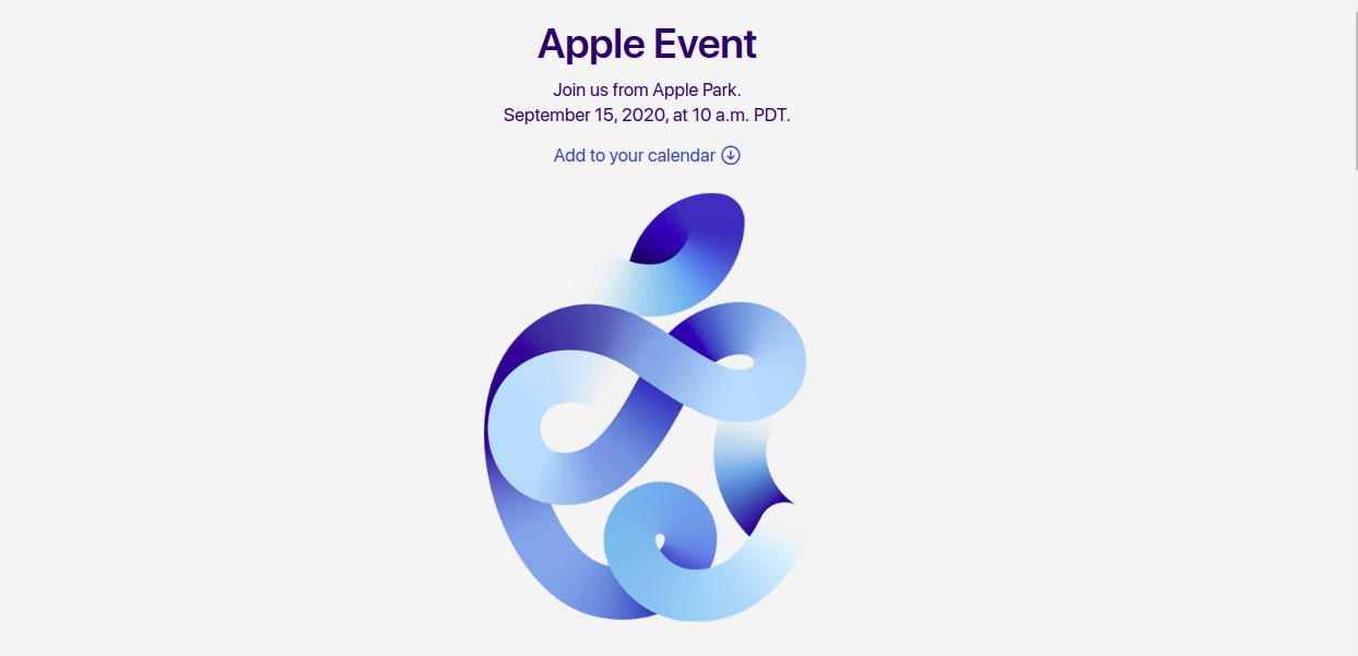 Apple anuncia novo evento focado no ipad e apple watch series 6. Com a hashtag #appleevent, evento de 15 de setembro deverá apresentar os novos apple watch series 6 e ipad
