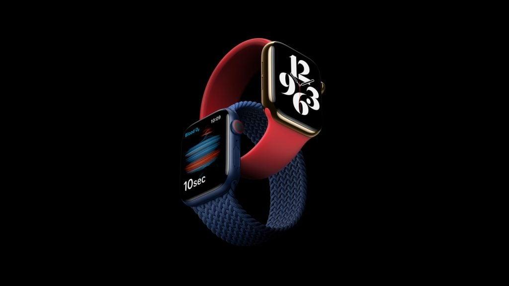 Imagem do Apple Watch Series 6