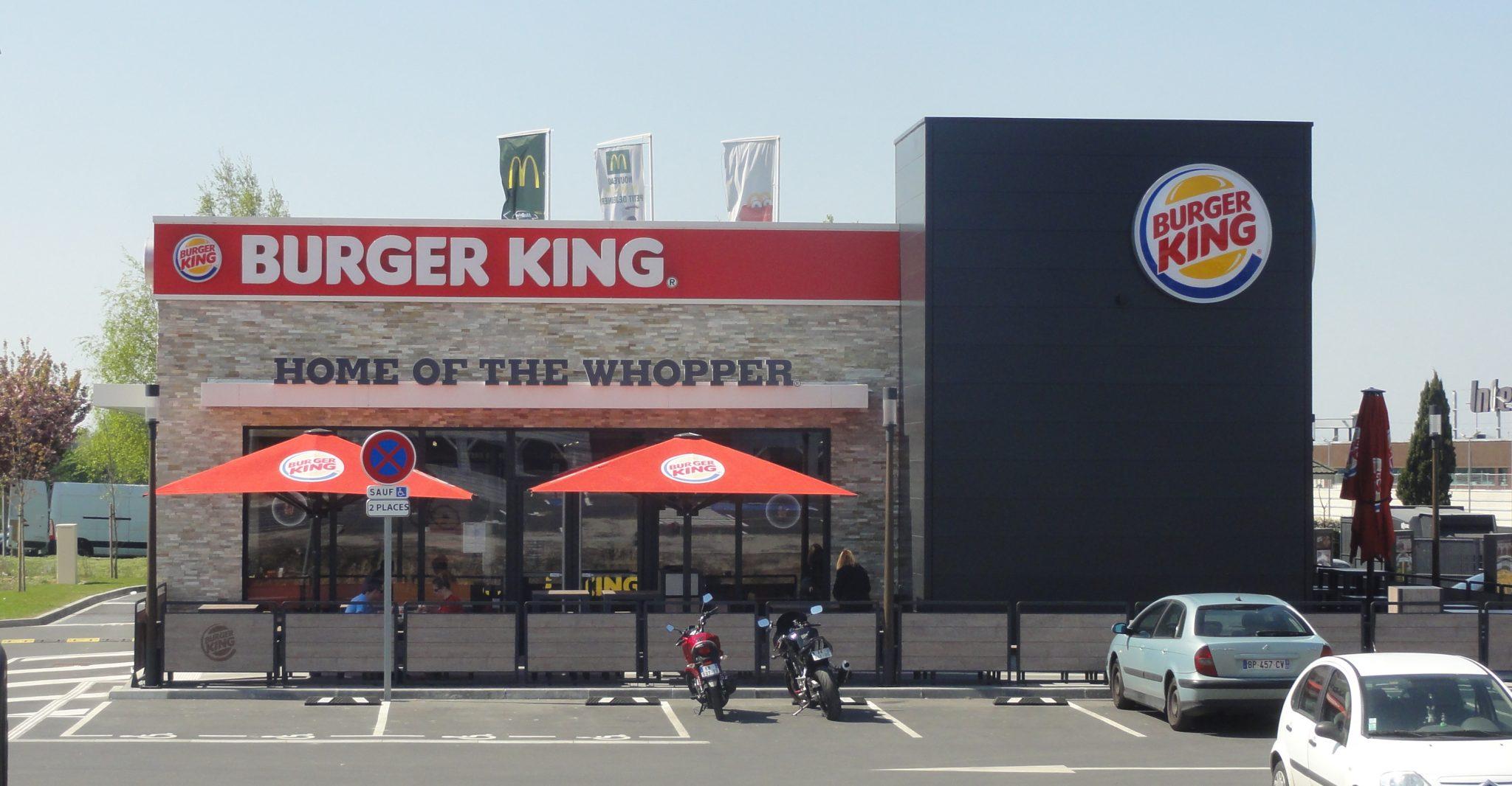 Foto de uma unidade antiga do burger king