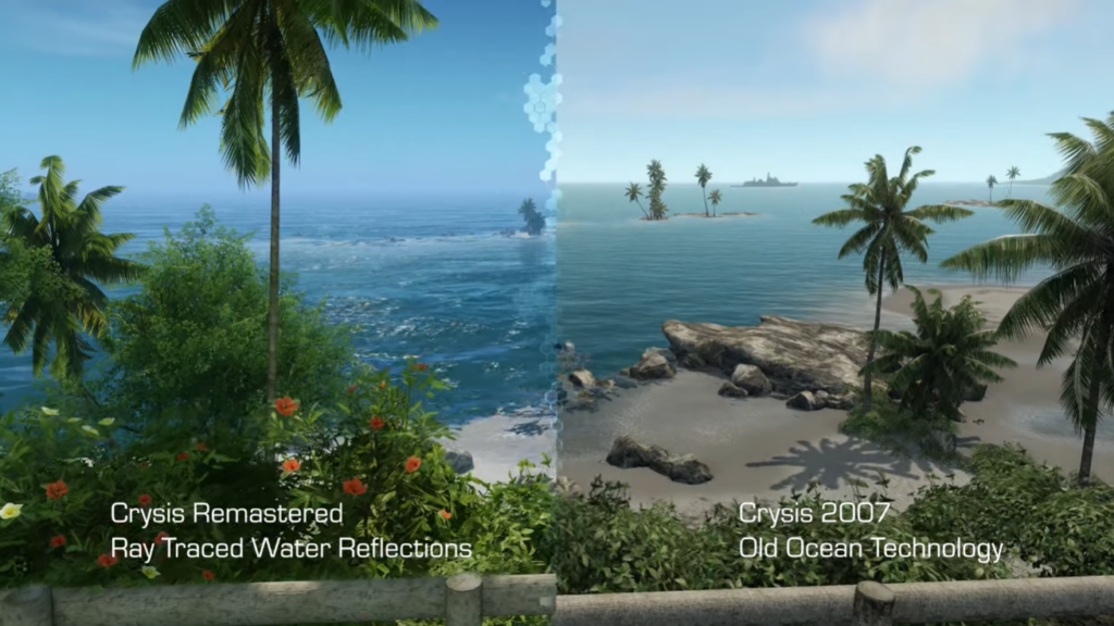 Melhoramentos visuais em crysis remastered