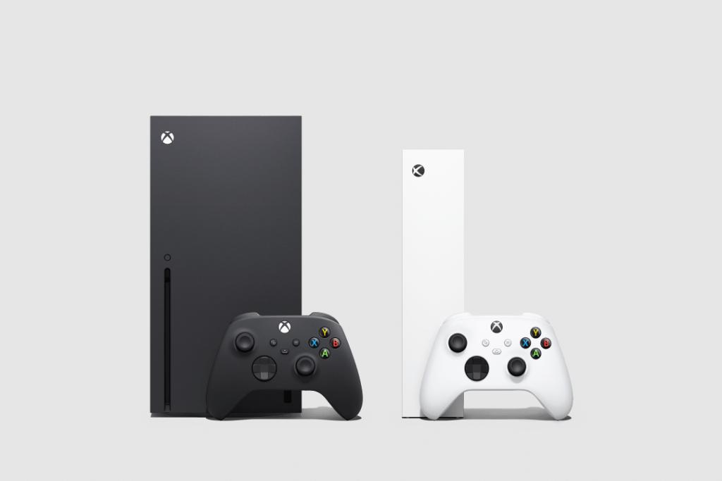 Na pré-venda do xbox series x, fizemos uma comparação de tamanho com o series s.