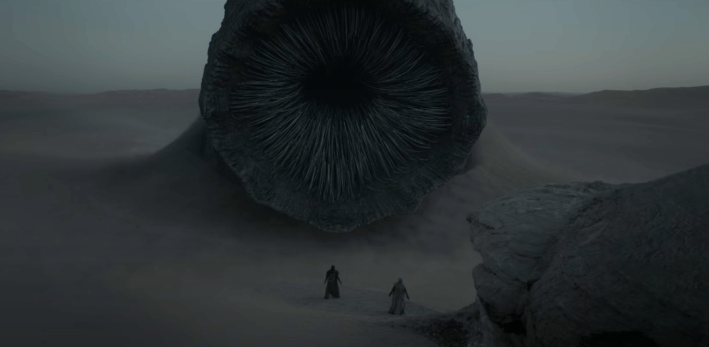 Imagem do trailer de duna
