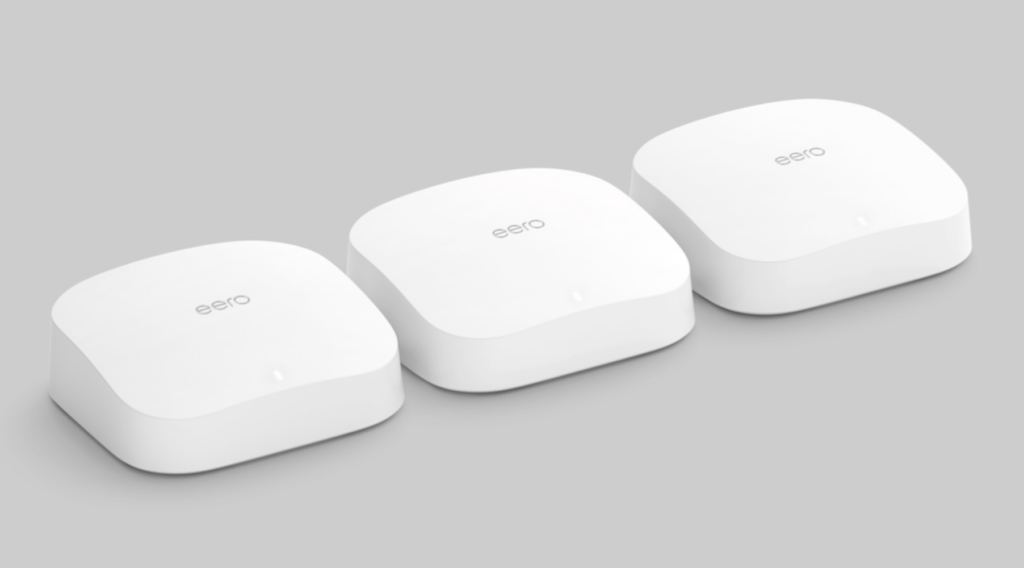 Novo Eero Pro 6, lançado no evento da Amazon