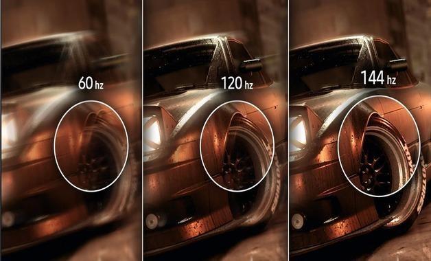 Diferença entre as frequências de atualização nas smart tvs