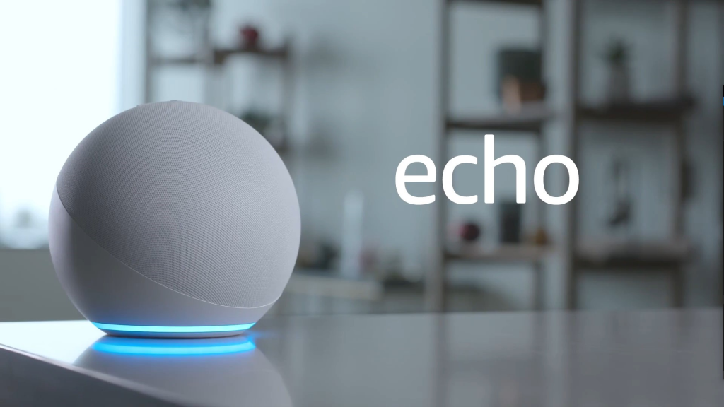 Nova amazon echo, lançada no evento da amazon