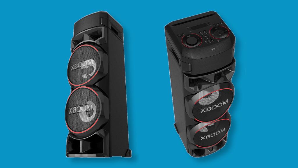 Nova caixa de som lg xboom rn9 tem tamanho e potência de sobra