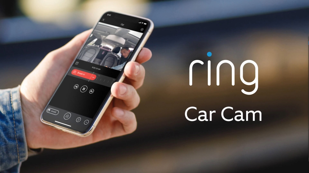 Ring car cam, lançado no evento da amazon