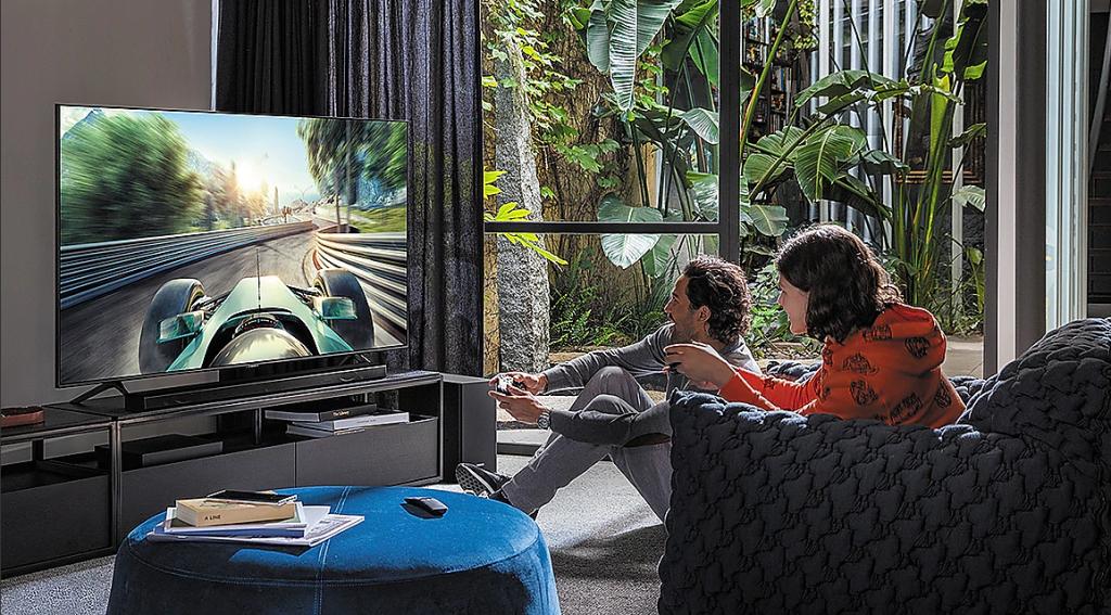 TV Samsung para nova geração de consoles