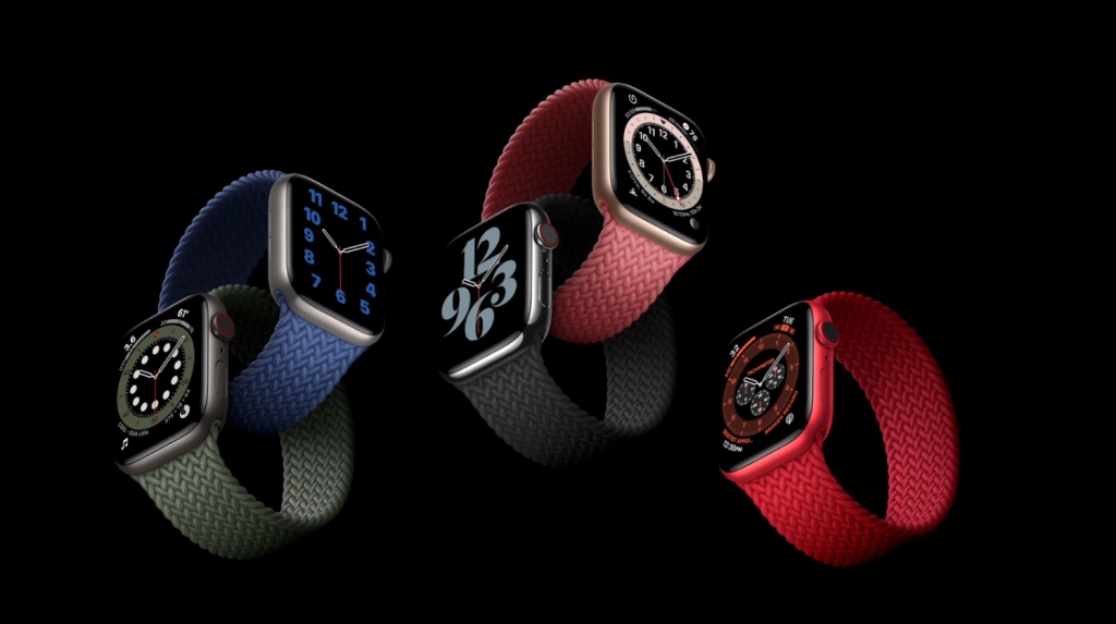Imagem do Watch Series 6 da Apple