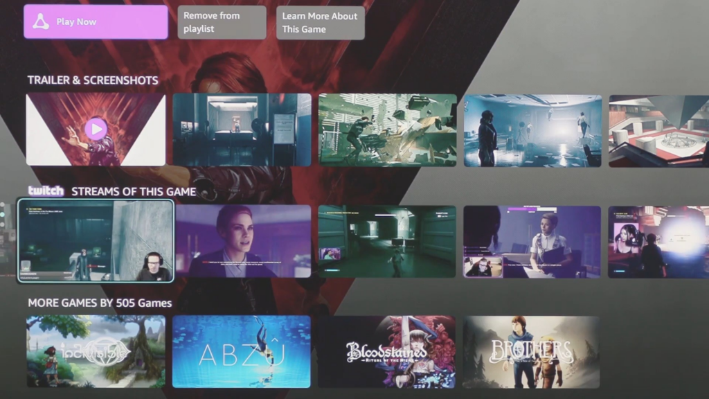 Amazon anuncia Luna, novo serviço de streaming de games