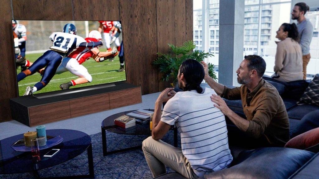LG CX tv 4K OLED divulgação, esportes