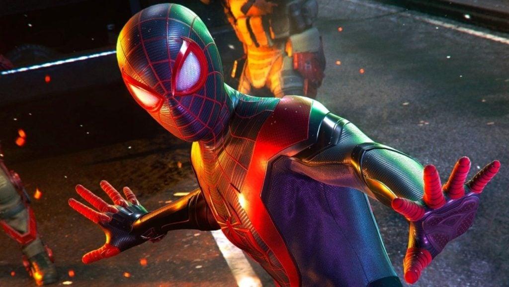 Spider-Man Miles Morales do PlayStation 5 no ShowmeCAST
