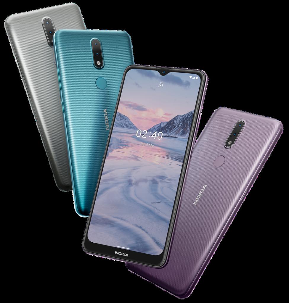 Novo Nokia 2.4 disponível em 4 cores