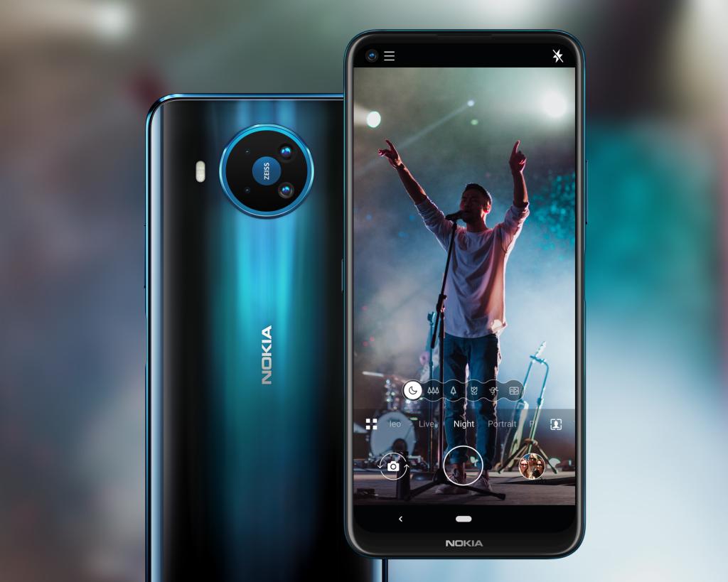 o Nokia 8.3 5G vai estar disponpivel para mercados selecionados