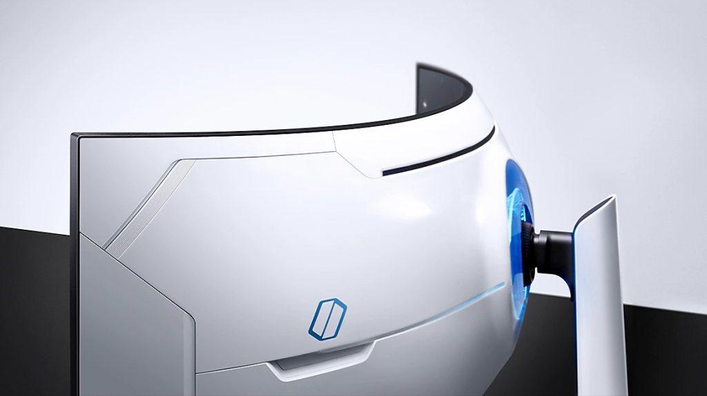Imagemdo odyssey g9, um dos novos monitores gamers da samsung